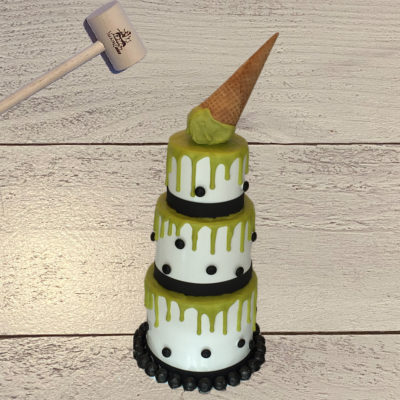 3-Tier IceCream SmashCake