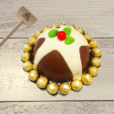 Christmas Pudding SmashCake