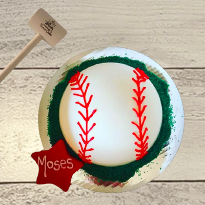 Baseball SmashCake Dome