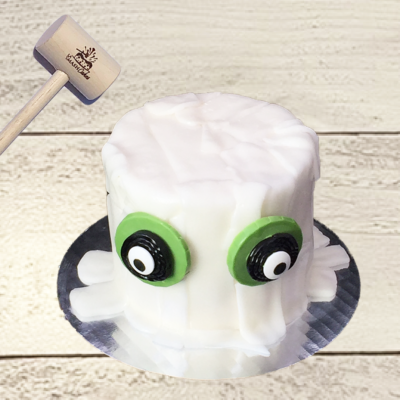 Ghost Mummy Mini Smashcake
