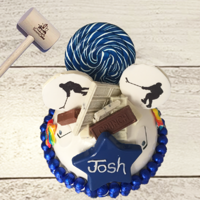 Ice hockey SmashCake