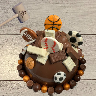 Sports Themed SmashCake 1