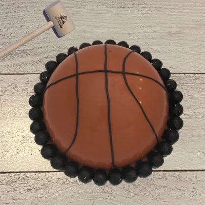 Basketball SmashCake Dome