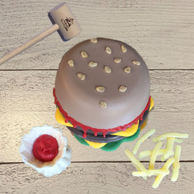 Burger and Fries SmashCake